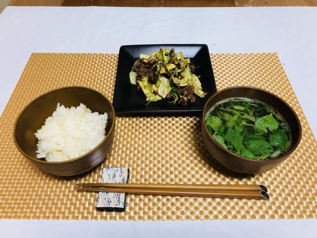 野菜たっぷり!ご飯もすすむ焼き肉定食