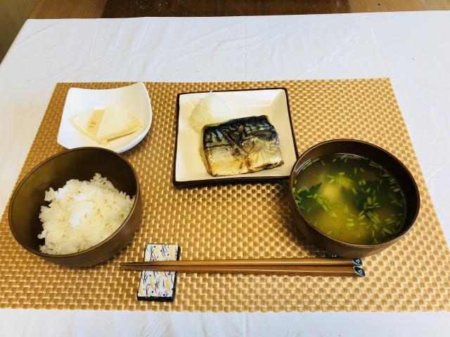 鯖の焼き魚で栄養満点な和食定番♪