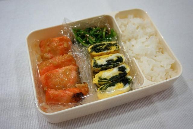 ふっくら鮭の西京焼きで満足感アップ弁当◎