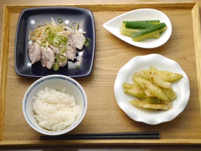 低カロリーな蒸し鶏の絶品中華ソース!!