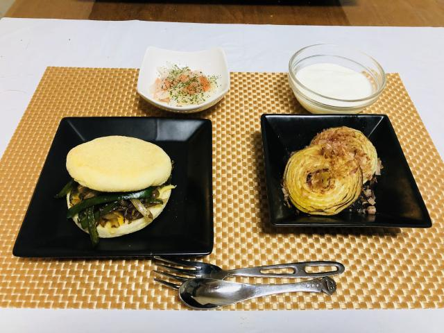 野菜との相性が最高!鯛とチーズのヘルシーマフィン♪