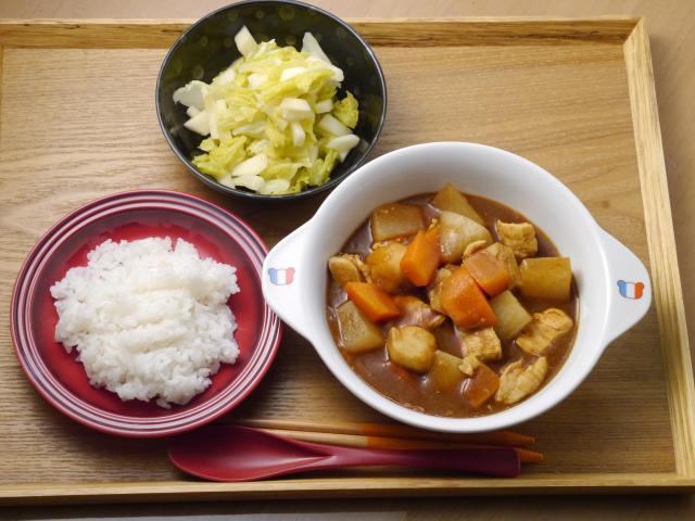 里いものゴロッと野菜カレー!!