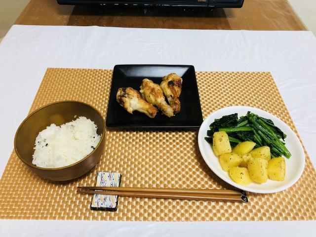 グリルで簡単レシピ!手羽元の龍田焼♪