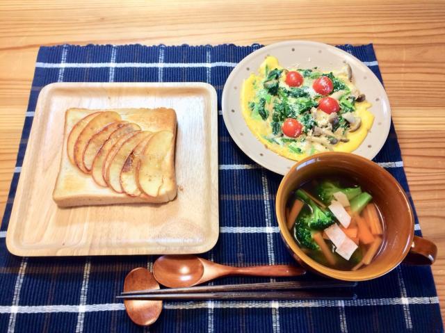 調理も簡単♪彩り野菜のスパニッシュオムレツ