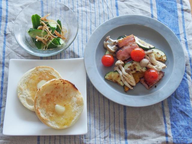 カラフルおかず♪ベーコンと夏野菜のソテー