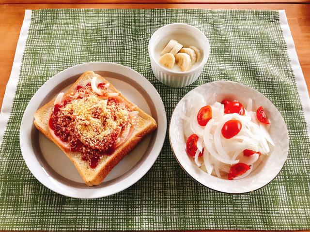 ケチャップで作る!お手軽ピザトースト