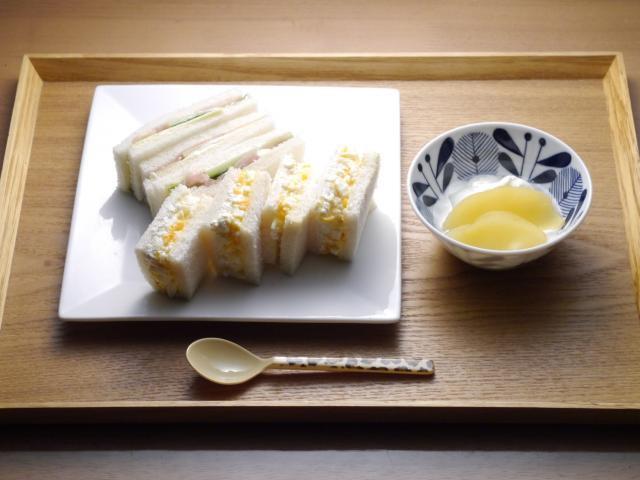 さっぱり美味しい!カッテージチーズのサンドイッチ!